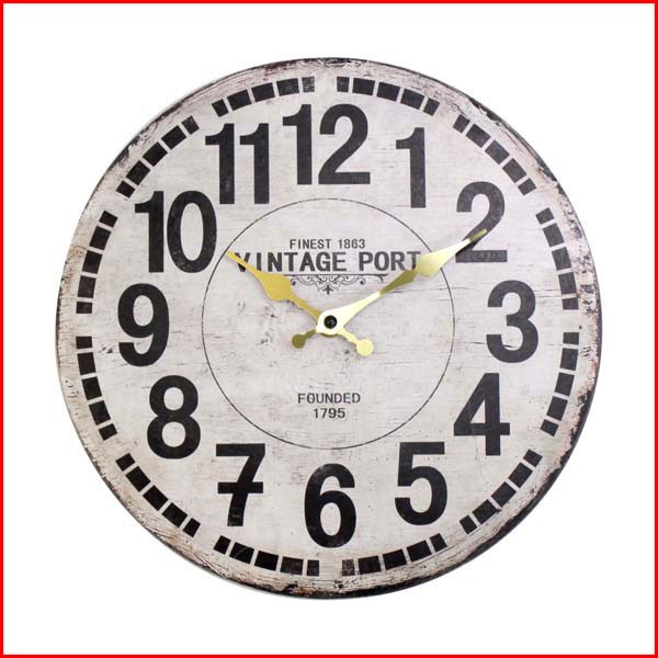 オールドルック ウォールクロック VINTAGE 時計 ...