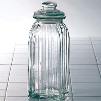 グラスジャー スレンダー (L) 保存容器 ガラス 調...