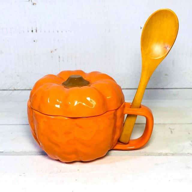 スープカップ カボチャ スープカップ 陶器 スープ...