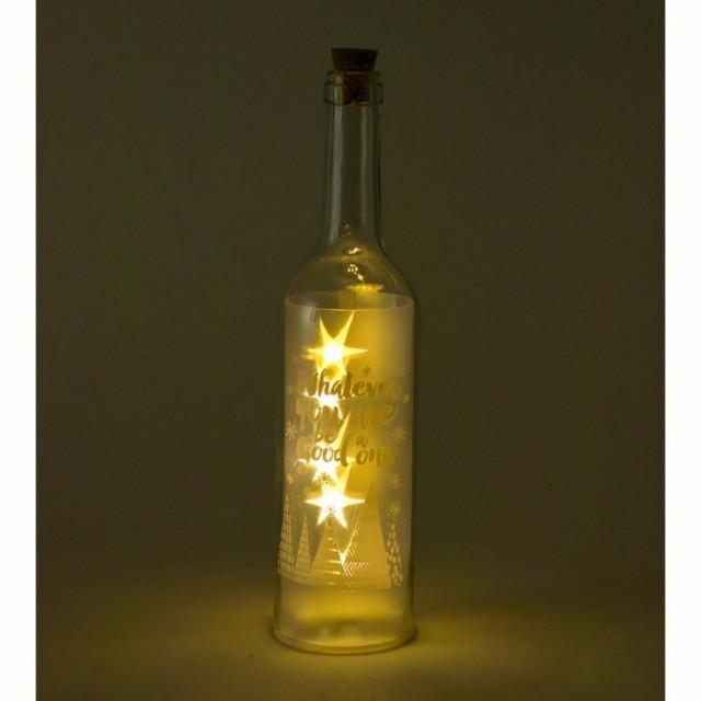 SPICE クリスマス スターライトLEDボトル A イル...