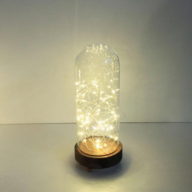 LEDガラスドームライト ハイタイプ Lサイズ イン...
