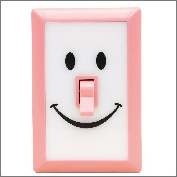 LEDライト 照明  LED電球 壁掛け スマイル インテ...