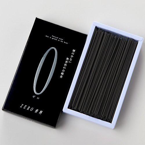 家庭用線香 ZERO(ゼロ)香料 黒 中箱(箱寸法16.5×...