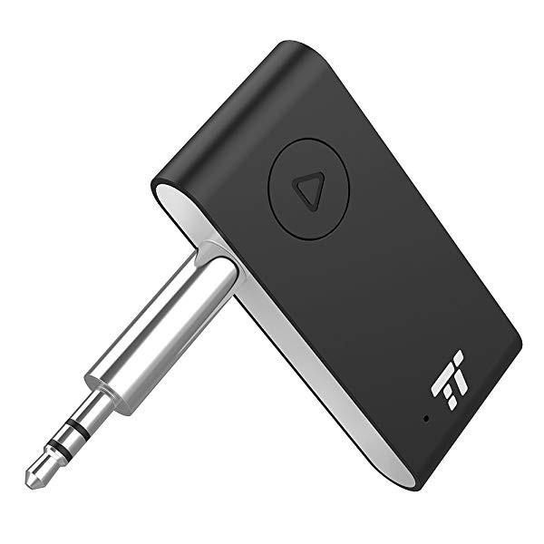 15b668dc47 aptX 対応] Bluetooth オーディオ レシーバー (15時間連続再生 二台同時 ...