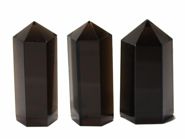 【天然石 置き石】ポイント型 約20×50mm スモー...