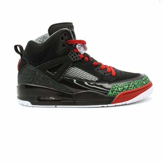 quality design b668c cba19 AIR JORDAN SPIZIKE OG SPIKE LEE 315371 026 BLACK VARSITY RED-CLASSIC GREEN-WHITE  Men s Shoes