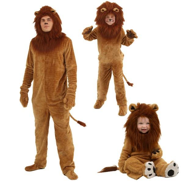 ハロウィン衣装 ライオン オールインワン 子供 大...