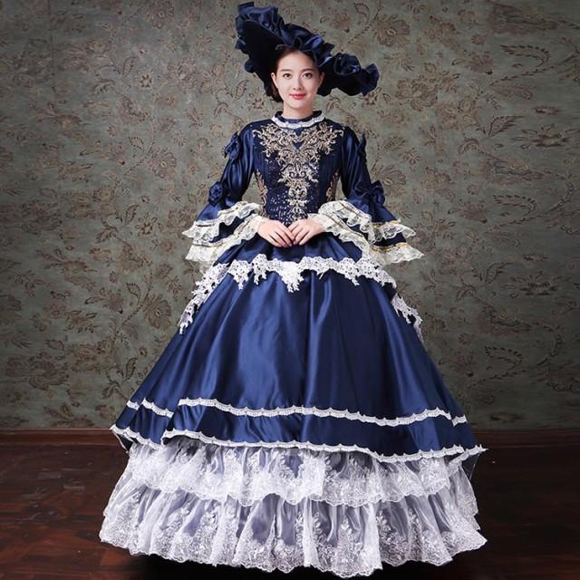 bd3c4c795a972 ロングドレス 演奏会 ドレス 大人 ピアノ 発表会 貴族 ドレス お姫様 カラードレス ロングドレス