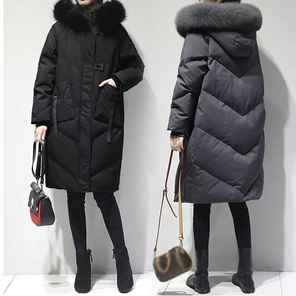 【サイズ有M/L/XL】中綿コート 冬服 膝丈コート 大きいサイズ 大きめ 中綿ジャケット アウター 冬 大人 上品 通勤 着痩
