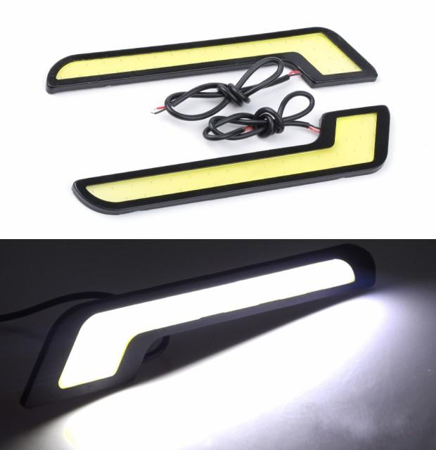 デイライトフォグランプ 白 LED ホワイト ベンツ ...