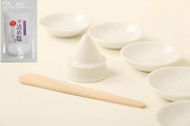 盛り塩 セット   国産 陶器 お得用 盛塩 セット ...
