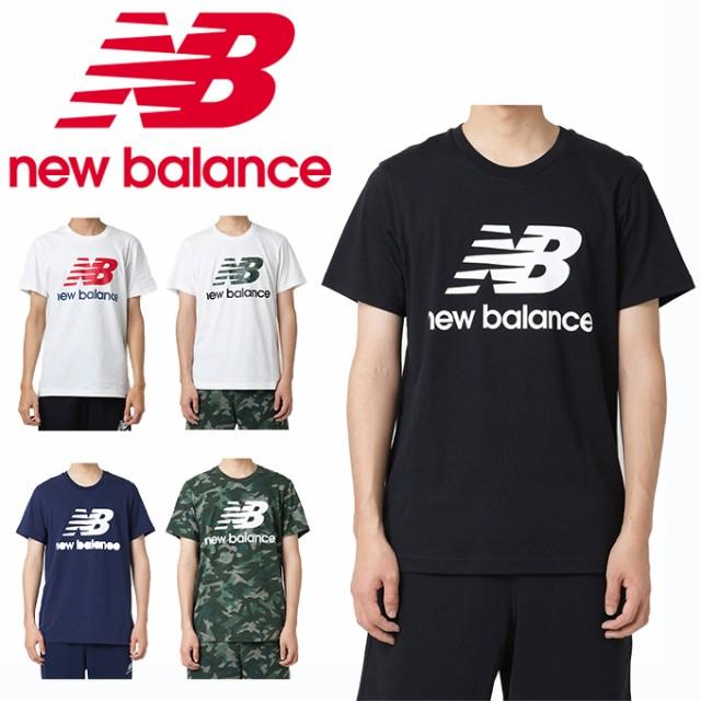 b881c722b2cc6 ニューバランス Tシャツ 半袖 メンズ エッセンシャルスタックドロゴTシャツ AMT91546 new balance swの通販はau  Wowma!(ワウマ) - ヒマラヤ トレーニング ...