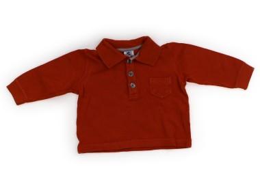 【プチバトー/PETIT BATEAU】ポロシャツ 60サイズ...