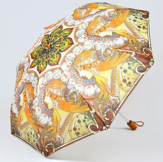 【折りたたみ傘】ミュシャ 妖精 CSE1400
