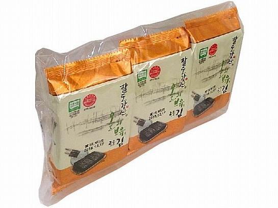 オリオンジャコー 韓国のり 3袋 x24 880906047900...