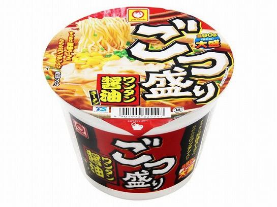 マルちゃん  ごつ盛り ワンタン醤油 カップ 117g ...