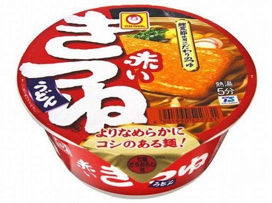 マルちゃん  赤いきつねうどん 東 カップ 96g x12...