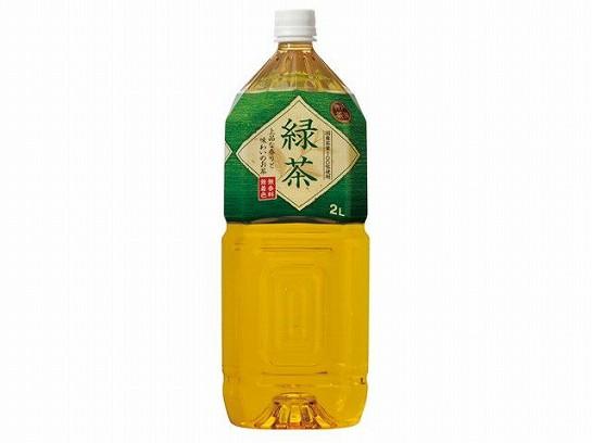 神戸茶房 緑茶 ペット 2L x6 4936790505257