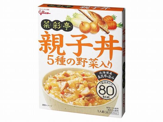 グリコ  菜彩亭 親子丼 140g x10 4901005229952