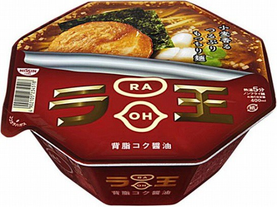 日清食品  ラ王 背脂コク醤油 カップ 115g x12 49...