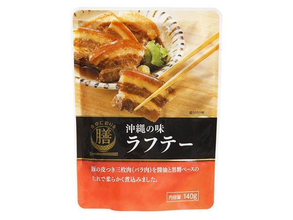 食卓に彩りを膳 沖縄の味 ラフテー 140g x5 49641...