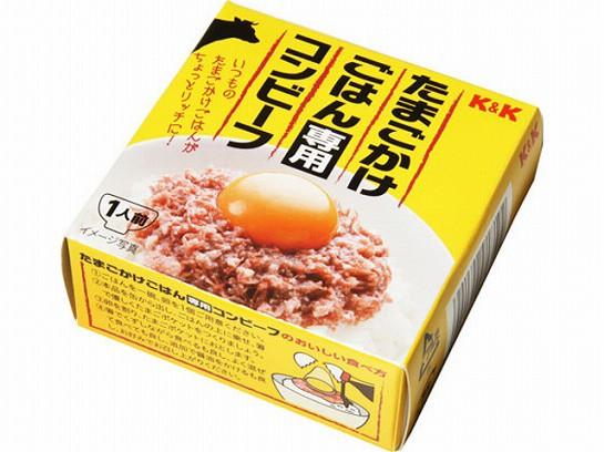 K&K たまごかけごはん専用コンビーフ 缶 80g x6 4...