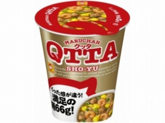 マルちゃん  QTTA 醤油ラーメン カップ 78g x12 4...