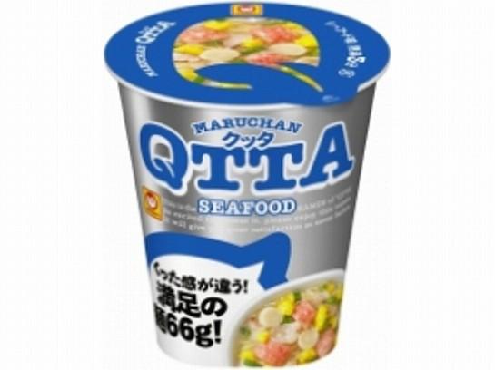 マルちゃん  QTTA シーフードラーメン カップ 78g...