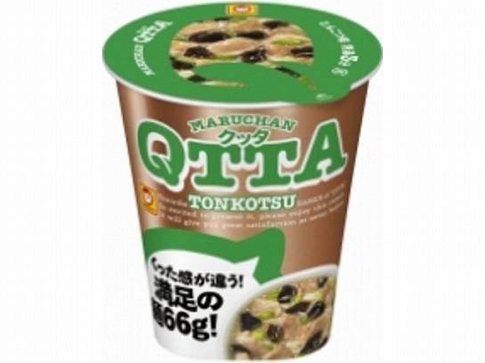 マルちゃん  QTTA 豚骨ラーメン カップ 80g x12 4...