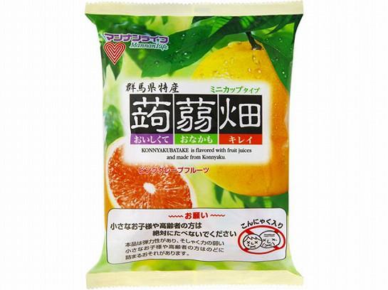 マンナンライフ 蒟蒻畑 ピンクグレープフルーツ味...