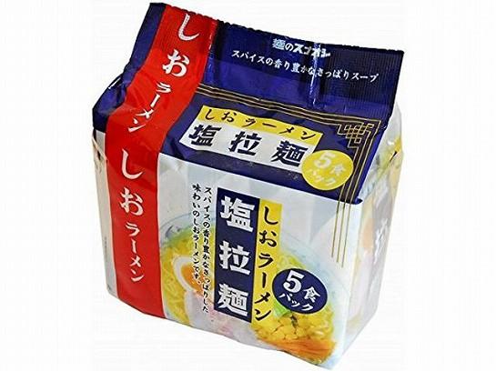 スナオシ 塩拉麺 5食パック 414g x6 497328883099...