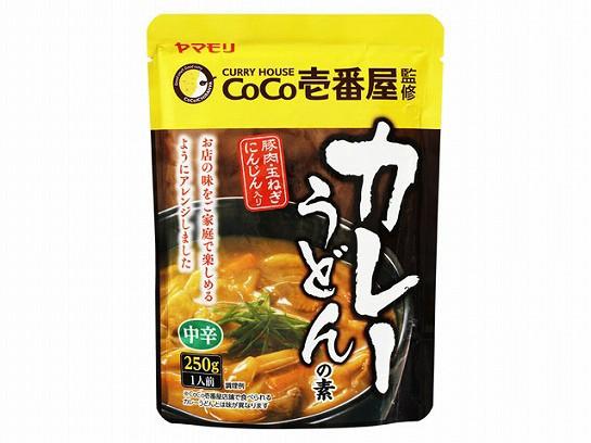 ヤマモリ CoCo壱番屋カレーうどんの素 250g ...