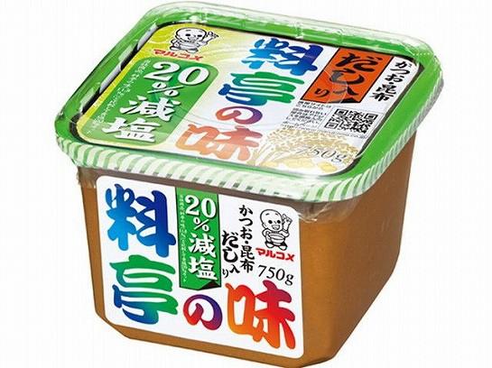 マルコメ だし入り味噌 料亭の味 減塩 750g x8 49...
