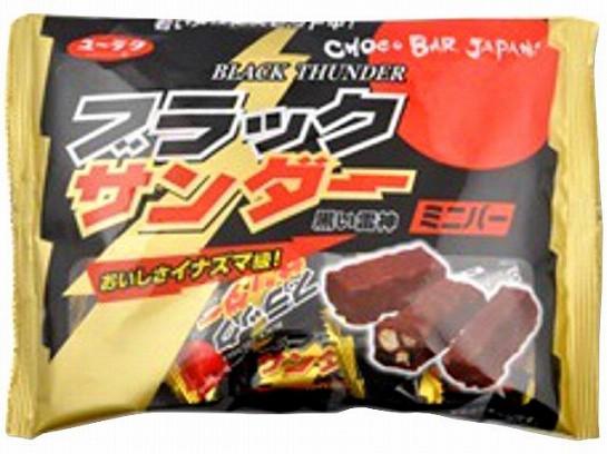 有楽製菓 ブラックサンダーミニバー 173g x12 490...