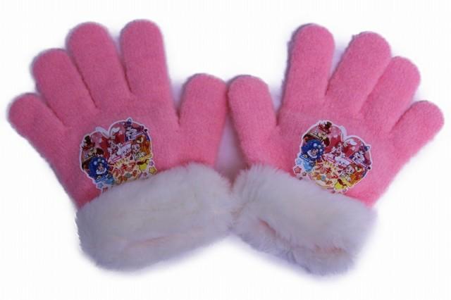 キラキラ☆プリキュアアラモード 手袋 ピンク p...