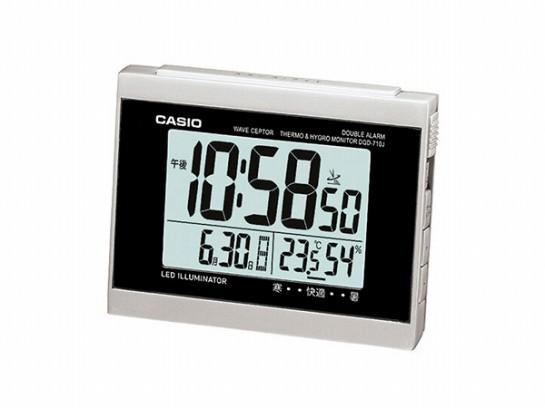 カシオ  CASIO 電波 置き時計 DQD-710J-8JF 国内...