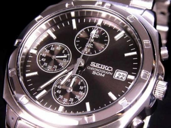 セイコー  SEIKO クロノグラフ 腕時計 SND191P1 s...