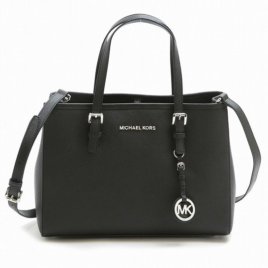 マイケルコース Michael Kors MD EW TOTE BLACK 3...