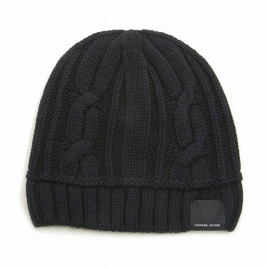 CANADA GOOSE ニットキャップ CABLE TOQUE 5261L ...