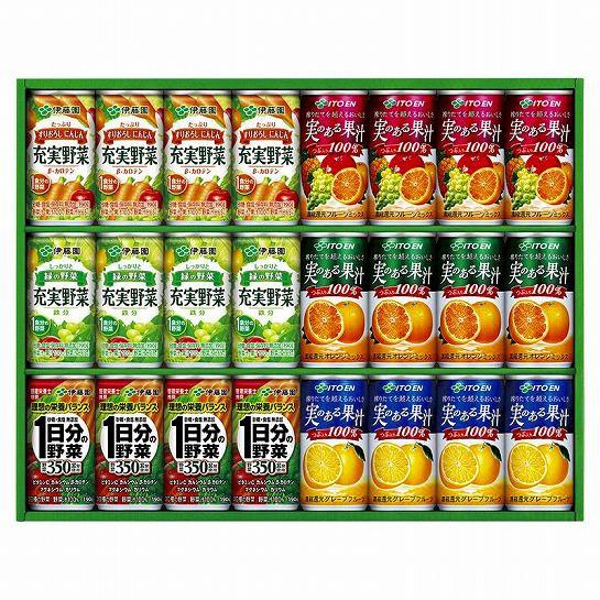 伊藤園  実のある果汁バラエティーギフト  YMK-30...