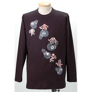 語れる立体和柄ロングTシャツ S-1979/瓢箪とっく...