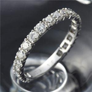 プラチナPt900 ダイヤリング 指輪 1ctエタニティ...