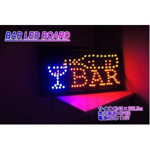 LEDサインボード/ネオンサイン看板 【BAR OPEN】 ...