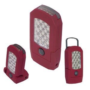 充電式LEDライト マグネット/フック付き 連続点灯...