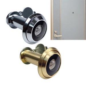 超広角・空転式ドアスコープ180 シルバー