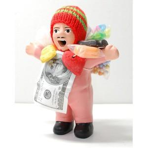 〔エケコ人形15cm〕桜・うすピンク色 女性に人気 ...