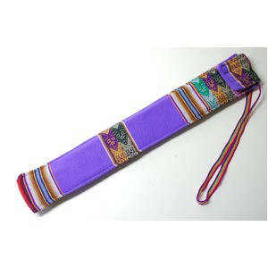 【QUENA SOFT CASE PURPLE AGUAYO】民族楽器ケー...