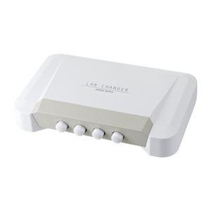 (まとめ) サンワサプライ LAN切替器 4回路 SW-L...