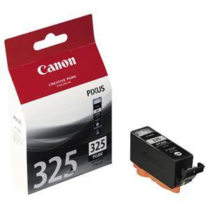 (まとめ) キヤノン Canon インクタンク BCI-325PGBK ブラック 4528B001 1個 〔×4セット〕