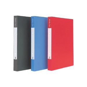 (まとめ) ビュートン リングファイル A4タテ 2穴 200枚収容 背幅30mm ブルー BRF-A4-B 1冊 〔×20